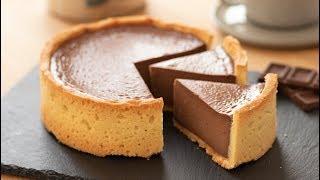 Baked Chocolate Cheese Tart|HidaMari Cooking