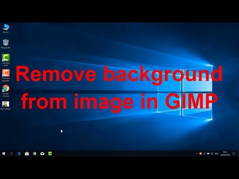 How to remove background from image in GIMP thumbnail