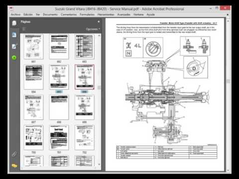 Manual Motor Starter Wiring Diagram Suzuki Grand Vitara 2005 2014 Workshop Service