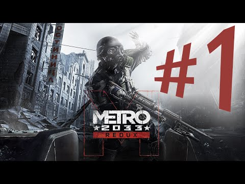 METRO 2033 REDUX - Parte 1: Mundo Radioativo! [ PC - Playthrough ]