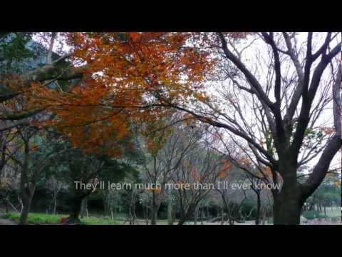 Michael Buble- What A Wonderful World -lyrics ,陽明山楓 ,720p HD