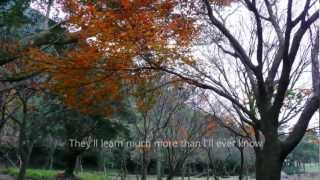 Michael Buble- What A Wonderful World -lyrics ,陽明山楓 ,720p HD