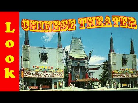 Grauman's Chinese Theatre And The Kodak Theater - Look At What We Found