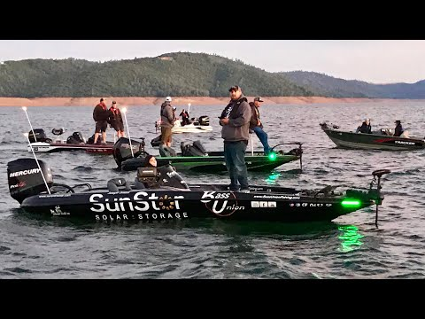 My FIRST Bass Tournament In A Vinyl Wrapped Boat & Truck | Fall Jig & Dropshot Fishing Lake Oroville