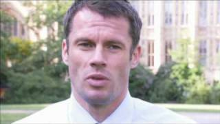 Jamie Carragher supporting Andy Burnham