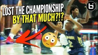 Buzzer Beater WAVED OFF in State Championship Game Wendell Moore  Leaky Black