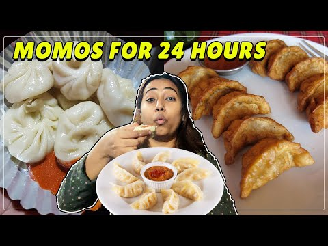 I ONLY ATE MOMOS FOR 24 HOURS    Episode 2    SINFUL FOODIE