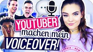 YOUTUBER machen mein VOICEOVER! ◆ mit Dillan White & Junggesellen // I