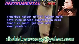 SAAWAN KI BHEEGI RAATON MEIN INSTRUMENTAL BY SHAHID PARVEZ CH