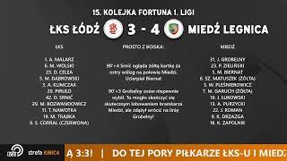 ŁKS Łódź - Miedź Legnica [RELACJA NA ŻYWO]