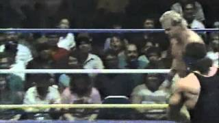 WW 4/8/89- Steiner & Gilbert vs Lee Scott & Snake Brown