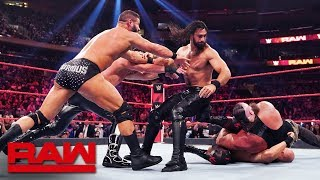 HINDI - Rollins, Strowman, Alexander & Viking Raiders vs Roode, Ziggler & The OC: Raw, Sept 10, 2019