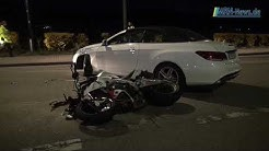 Bad Dürkheim Motorradunfall Fahrer schwer verletzt