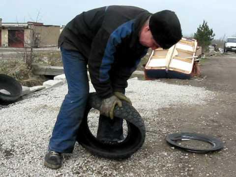 видео: Ваза из колеса