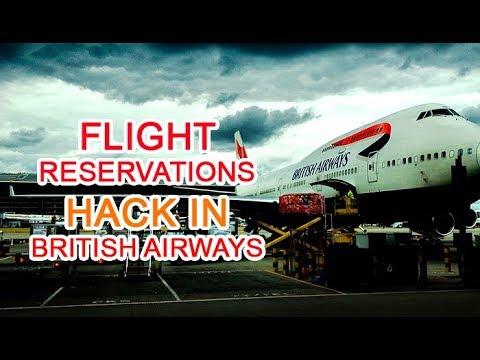 Free British airways tickets using vulnerability