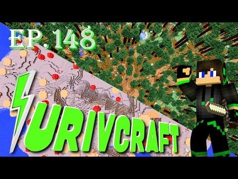 Surivcraft Ep.148 - Alla ricerca del Micelio e Podzol