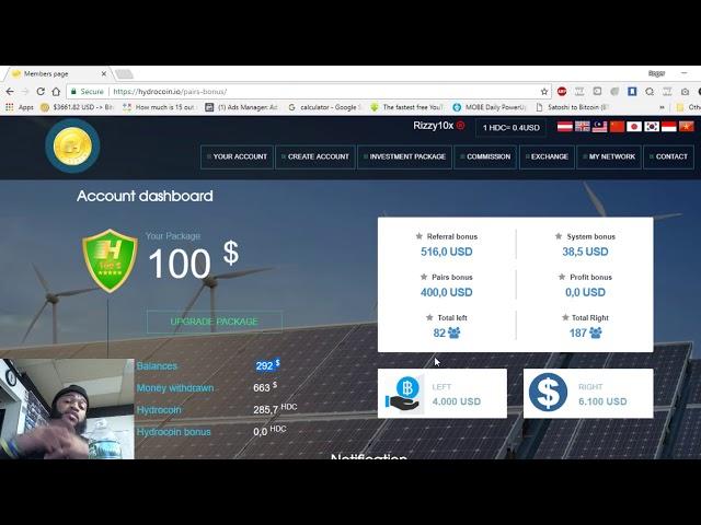 HydroCoin Made $1000 in 2 Days!