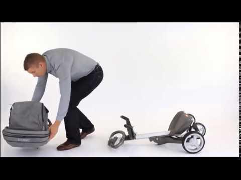 Stokke xplory stroller how to folding your stokke xplory youtube.