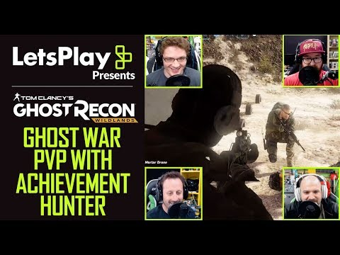 Ghost Recon Wildlands: Ghost War PVP Mode With Achievement Hunter   Let's Play Presents   Ubisoft