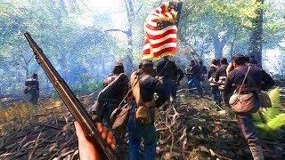 Trained Civil War Regiment DOMINATES In War of Rights!