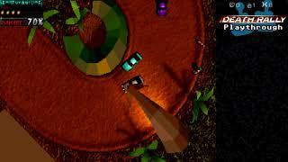 Скачать Death Rally Playthrough 1996 DOS Part 4