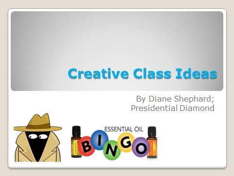 Training #5 Creative Classes