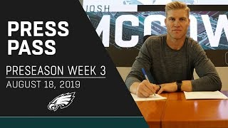 """Josh McCown """"Hard to Stay Away From"""" Opportunity to Join Eagles 