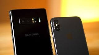 iPhone X vs Note 8 - Real world comparison after 1 month
