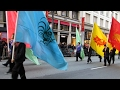 San Francisco Chinese New Year Parade 2017 Twelve Zodiac Flags & Five Chinese Gongs
