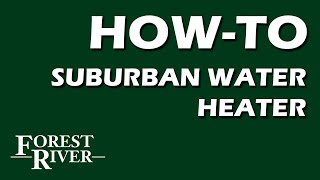 Suburban Water Heater