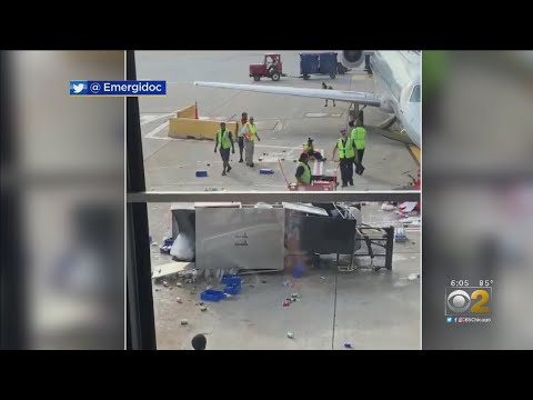 Deanna King - Out of Control Cart Causes Chaos, but Airline Employee Saves the Day
