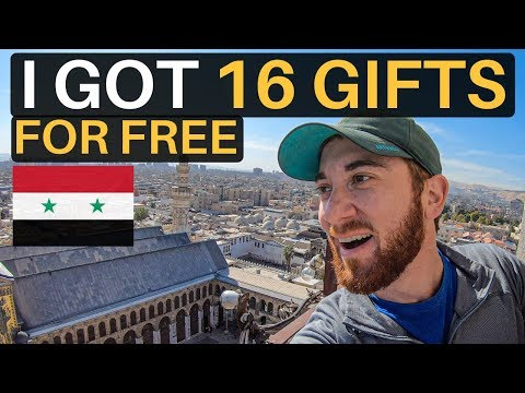I GOT 16 GIFTS FOR FREE (in SYRIA)