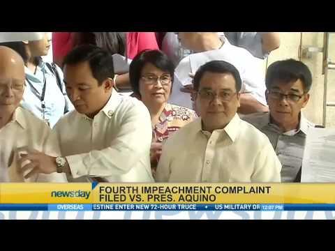 Act to file 4th impeachment complaint vs President Aquino