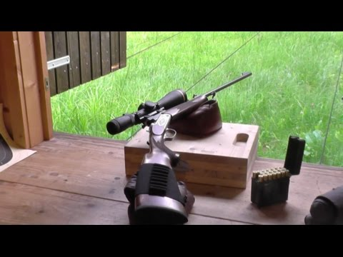 Merkel K3 single shot rifle cal  7mm RM accuracy
