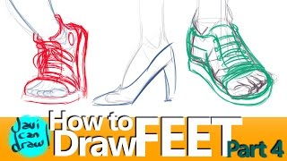 CAN I LEARN TO DRAW SHOES WITH JUST ONE VIDEO?