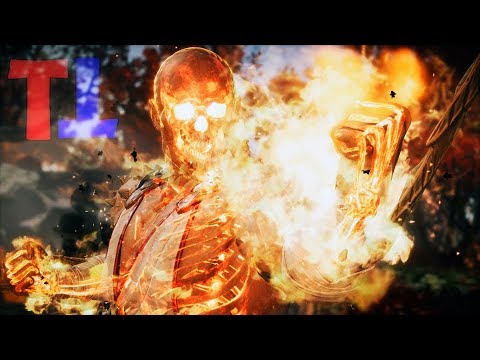 All Chars Become Fire Skeletons - Mortal Kombat 11 Scorpion Intro Swap