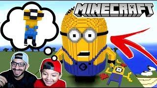 El Mejor Minion de Minecraft | Minecraft Build Battle #1 | Juegos Karim Juega
