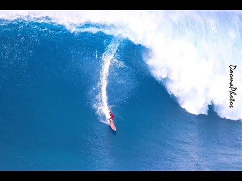 Peahi Paddle Session 2016 SONY 4K