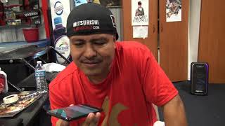 Robert Garcia Answering Fans Calls Over The Phone  EsNews Boxing