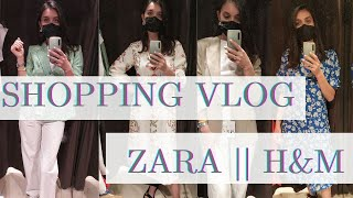 Летний Шоппинг Влог с Примеркой ZARA H M Shopping vlog Lusi kane