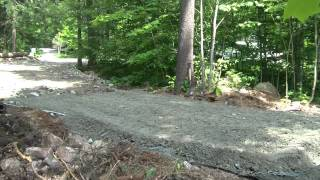 Building The Driveway