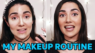 "Here is my much-requested ""everyday makeup routine"" - I hope you guys like it! Once again, I'm not a makeup artist at all, just tryna show you guys what ..."