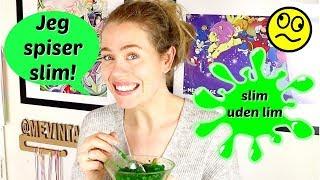 DIY Spiseligt waterslime // 2 ingredienser // slim forsøg