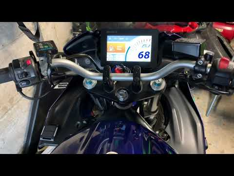 Motorcycle DIY TFT Dashboard - Mounting