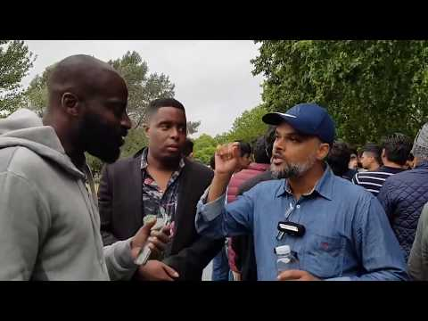 P1 - Blasphemous Rabbis!? Hashim vs Christian | Speakers Corner | Hyde Park