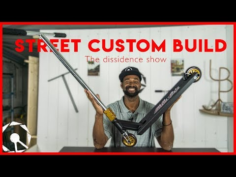 Custom Build : Full street complet custom scooter !