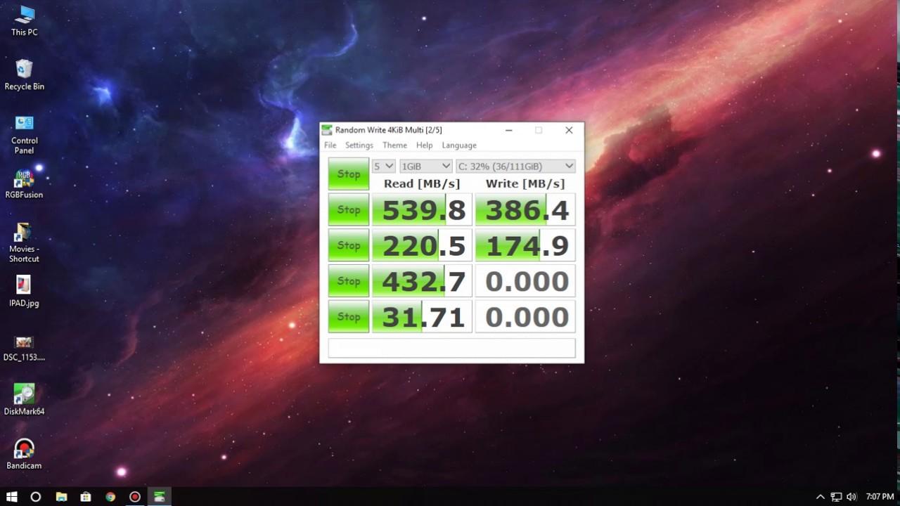 "The new GIGABYTE 120GB SATA III 2.5"" SSD benchmark!"