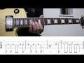 【TAB譜付き】電光石火ジェラシー(Denk?sekka jerash?)- MOSHIMO ギター(Guitar)