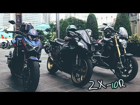 ZX10R With Racefit Ride In Jakarta | Kesasar, Exhaust Sound, Etc