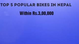Top 5 popular bikes in Nepal